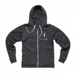FULL ZIP DARK GRAY...