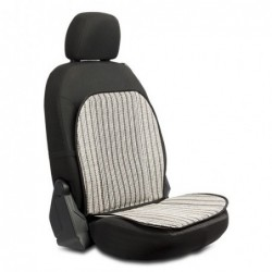 Breathable backrest lines...