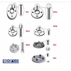 SPARCO 5X100 SEPARATORS |...