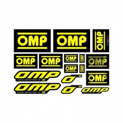 OMP STICKERS ASSORTED...