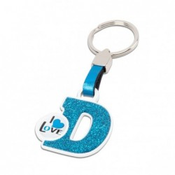 LETTER KEY RING &quotD&quot...