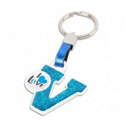 LETTER KEY RING &quotV&quot...
