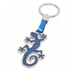 BLUE LIZARD KEY RING