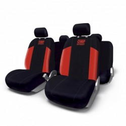 KIT SEAT COVER OMP SPEED RED