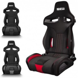 NEW CHAIR R333 BLACK / RED