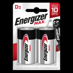 ENERGIZER MAX LR20 (D) BL2