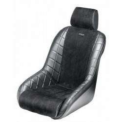OMP VINTAGE BLACK LEATHER SEAT