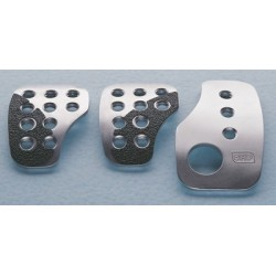 SET 3 RACING PEDALS SILVER