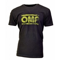 BLACK OMP T-SHIRT WITH...