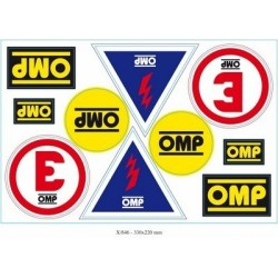 SET OMP ADHESIVES X...