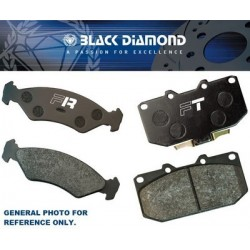 BRAKE PADS PREDATOR BLACK...