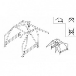 ANTI-ROLL CAGE SPARCO 00723194