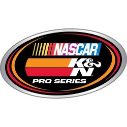 DECAL K&N NASCAR PRO SERIES...