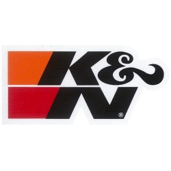 DECAL / STICKER K & N BLACK...