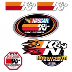 DECAL / STICKER PACK K&N