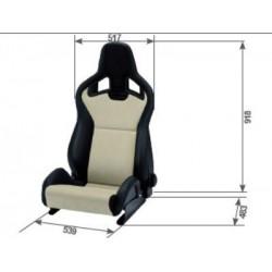 RECARO SEAT CROSS SPORTSTER...