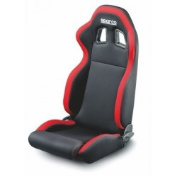 SEAT SPARCO R100 BLACK RED