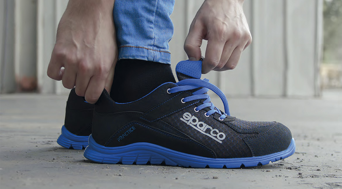 SPARCO safety and work shoes